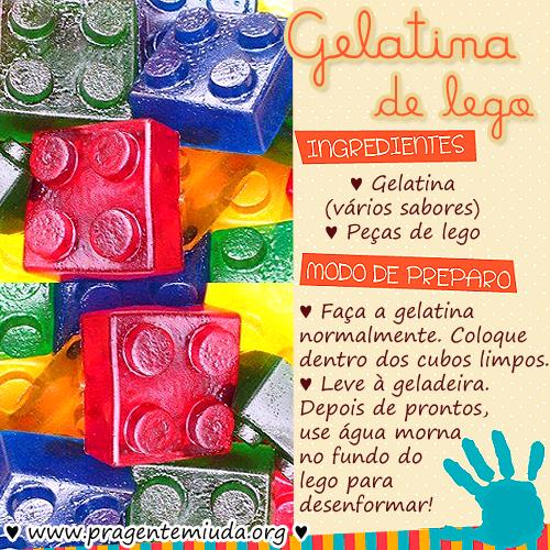 e7d09edd6ae984 Gelatina-Lego | Pra Gente Miúda | colourful images | Experiências ...