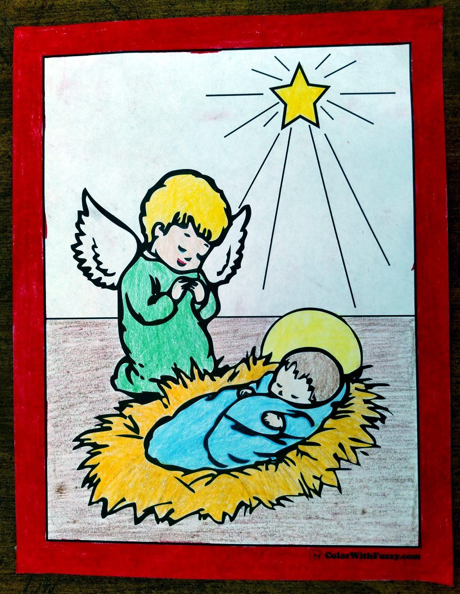 151+ Christmas Coloring Pictures | Catholic Pinterest | Pinterest ...