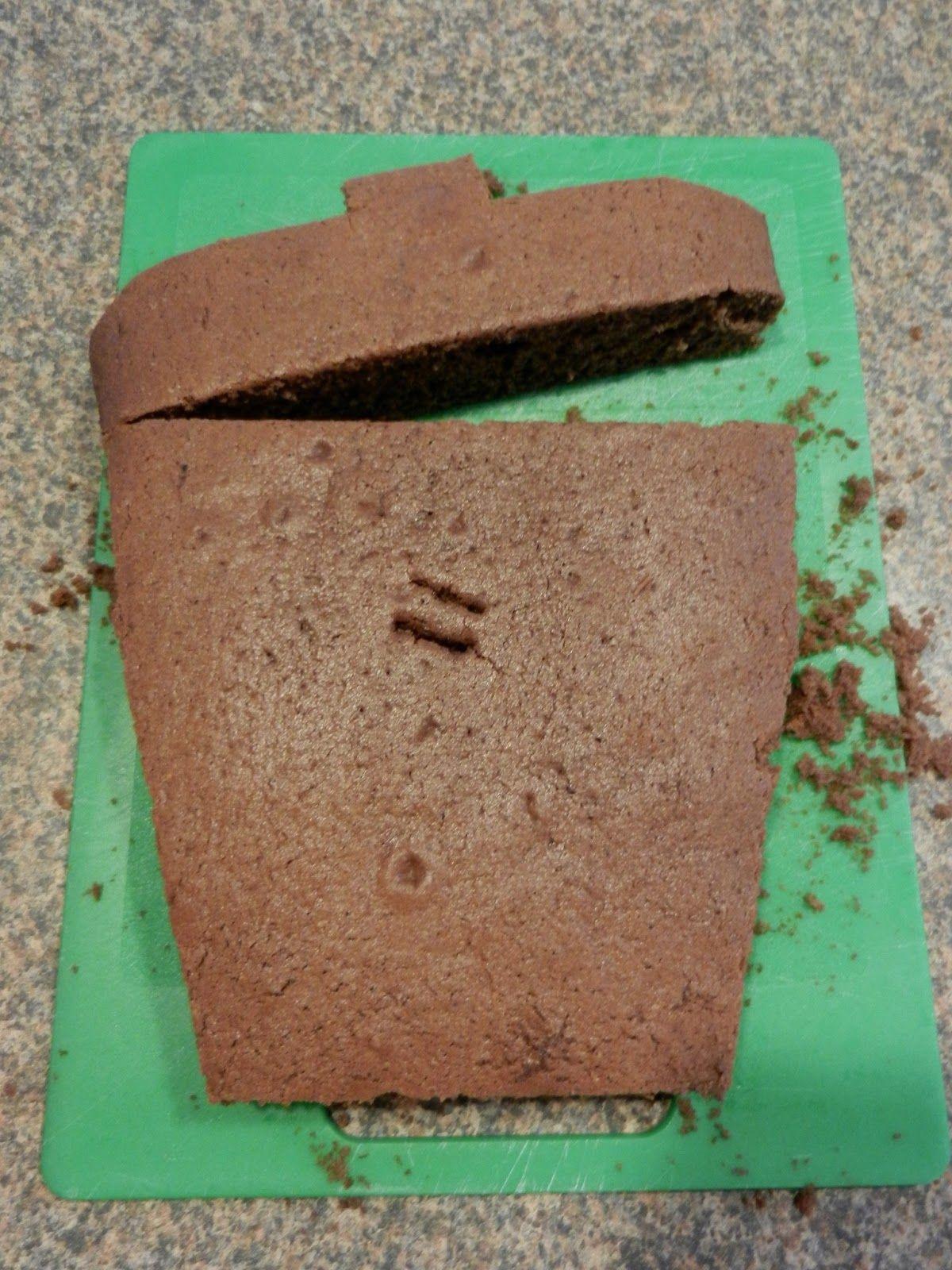 Trash bin cake idea