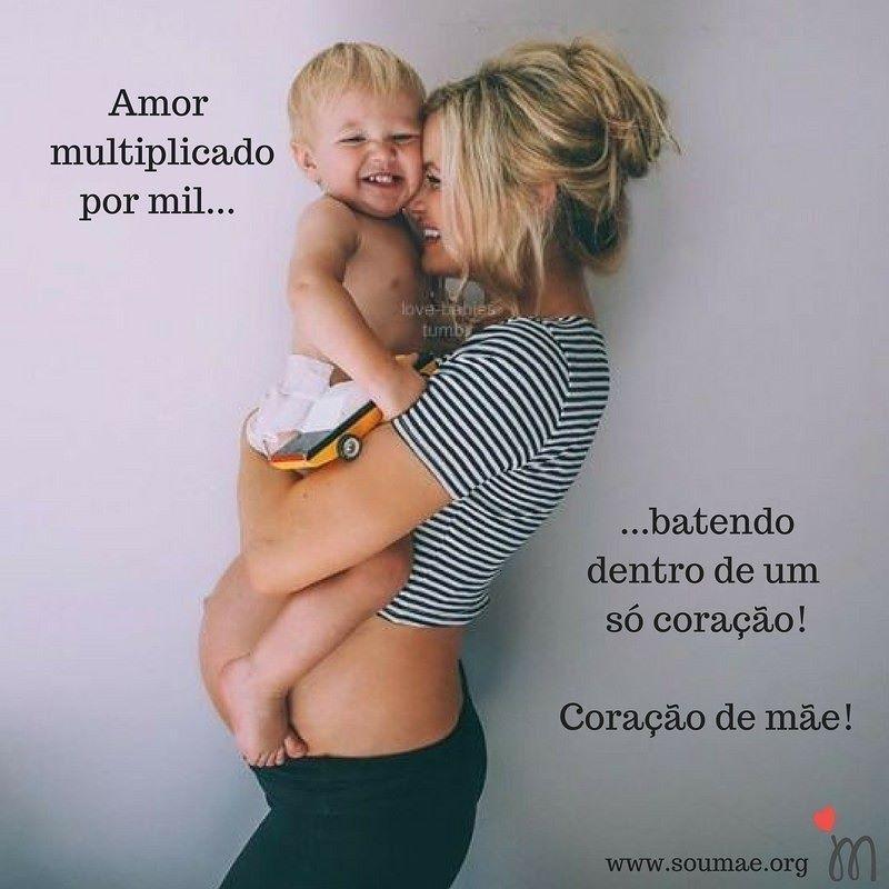 Quem já estudou o coração de uma mãe para entender a profundidade e extensão do seu amor pelos filhos?! Quem conseguirá tal feito?! Amor de mãe não se explica se sente! #amordemãe #coraçãodemãe #amormultiplicadoporinfinito #amorincondicional #filhos #maternidade #muitoamorenvolvido