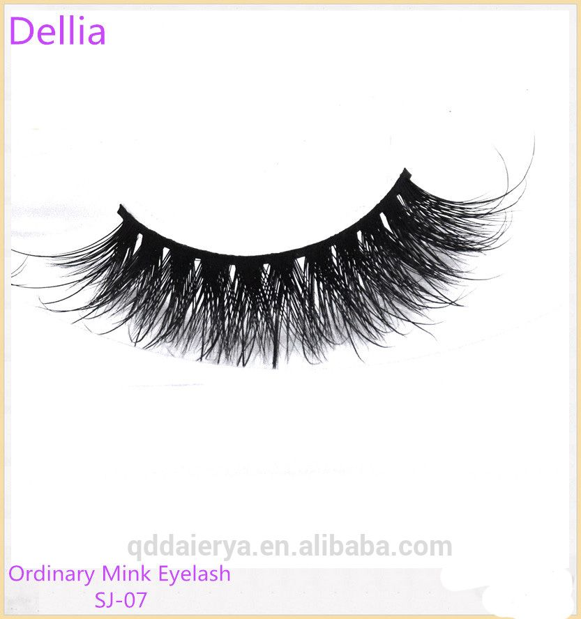 Dellia Free Samples Eyelash False Eyelashes Wholesale Mink Hair