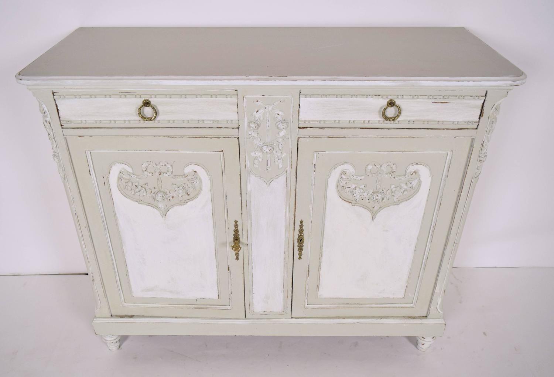 Antique French Louis XVI Server/Sideboard   Louis xvi