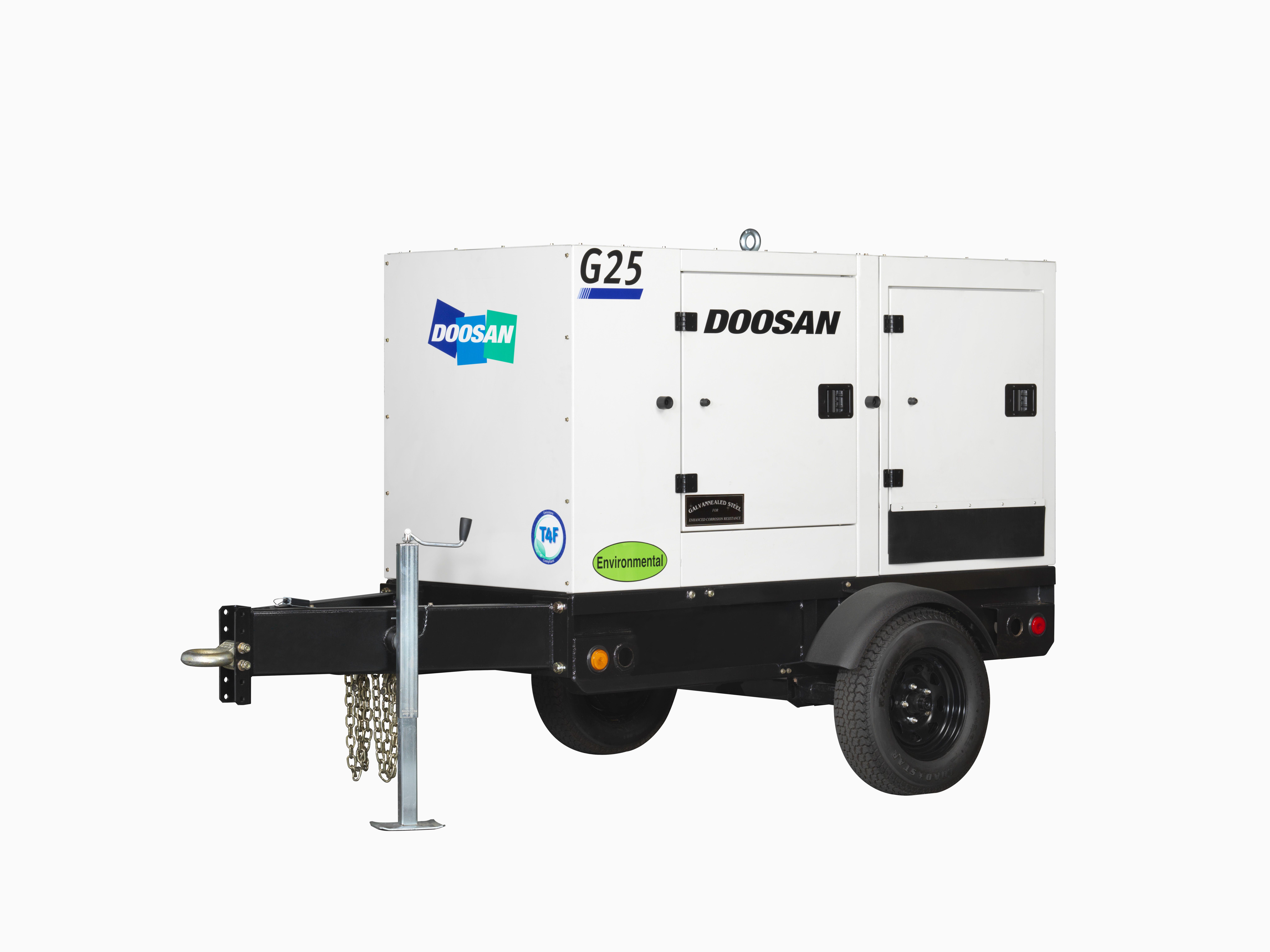 Doosan mobile generators offer extended run time construction