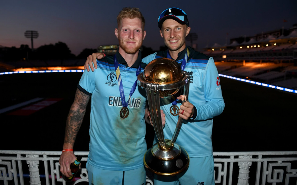 Celebrations At The Oval After England S Cricket World Cup Win In Pictures Cricket World Cup World Cup Final England Cricket Team