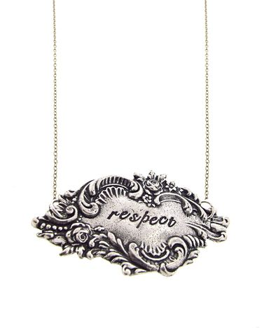Respect Necklace by JewelMint.com