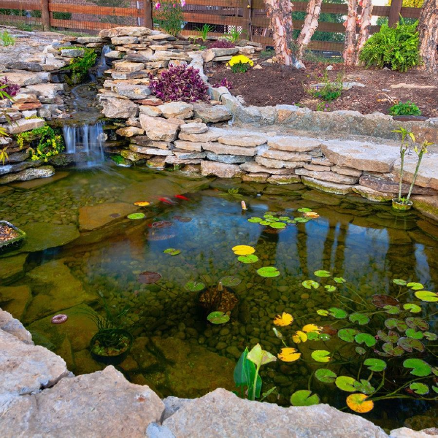 Beautiful Koi Pond Ideas You Can Build Yourself To Accent ...