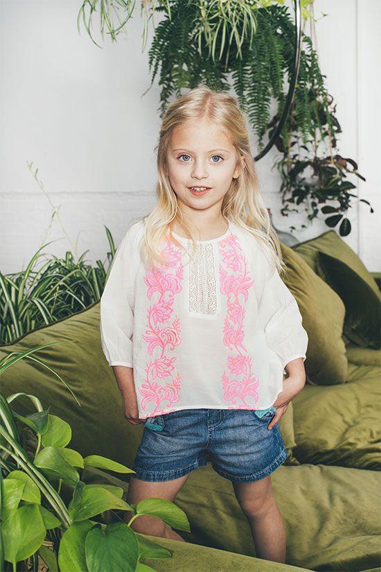 Mini-Me Boubou Blouse - PAMPELONE CLOTHING