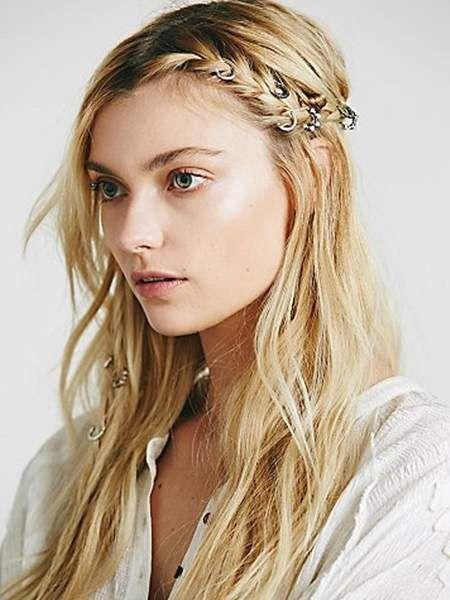 髮用戒指《金屬細圓環髮飾》不用去飾品店貴貴的買也能輕易得手~ - 圖片7