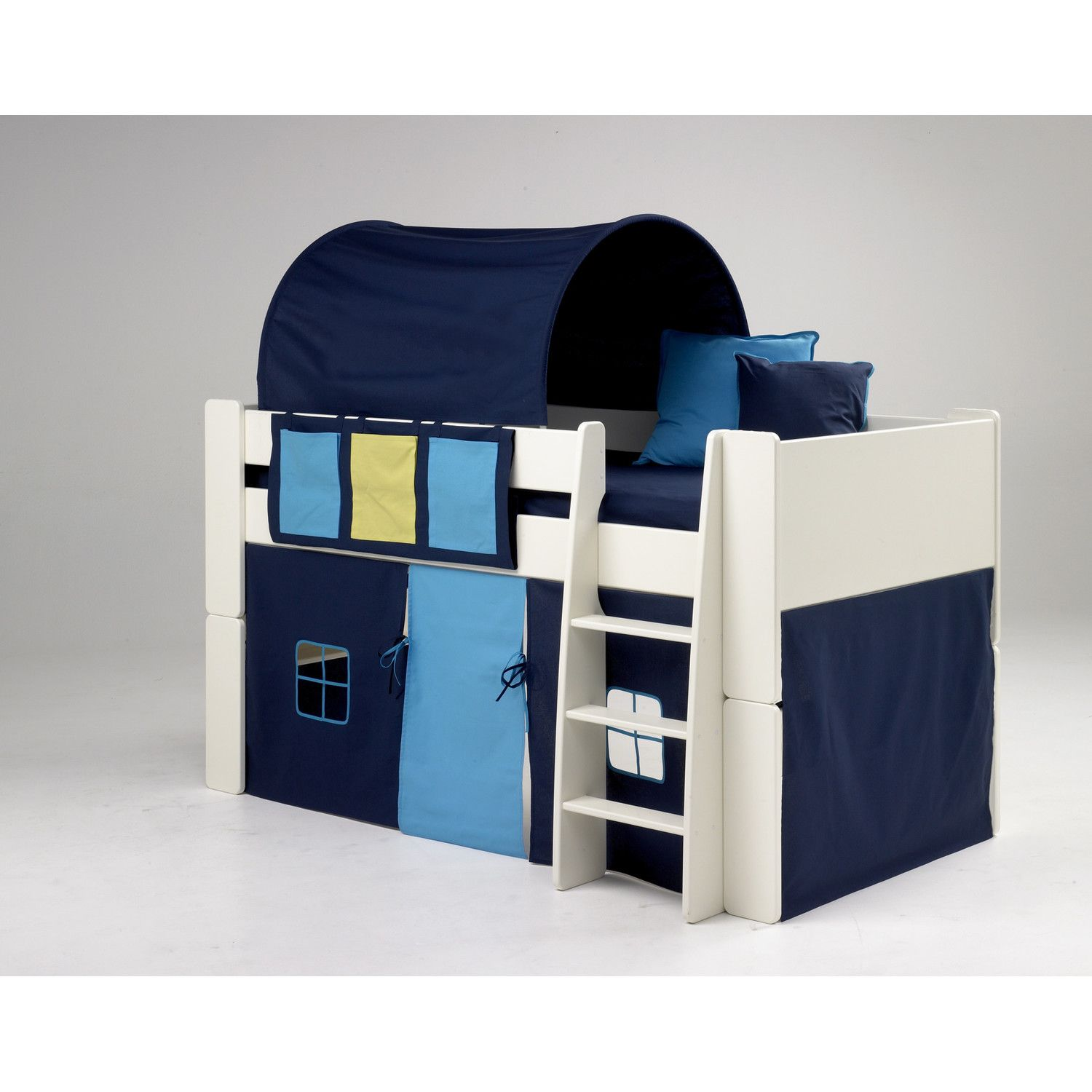 Homestead Living Tot to Teen Midsleeper Bed Tent | Wayfair UK  sc 1 st  Pinterest & Bed+Tents+for+Boys | BOYS BLUE TUNNEL TENT UNDER BED TENT ...