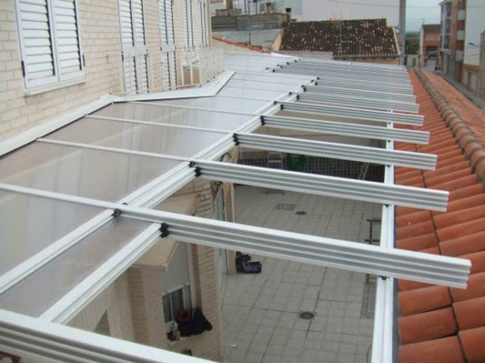 Imagen relacionada pergola y techo cristal pinterest - Techos de vidrio para terrazas ...