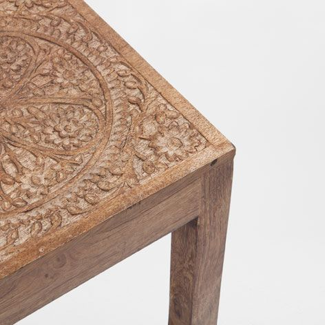 cette petite table de chez zara home mesure 40 40 40 et tombe point dans l 39 id e recherch e de. Black Bedroom Furniture Sets. Home Design Ideas