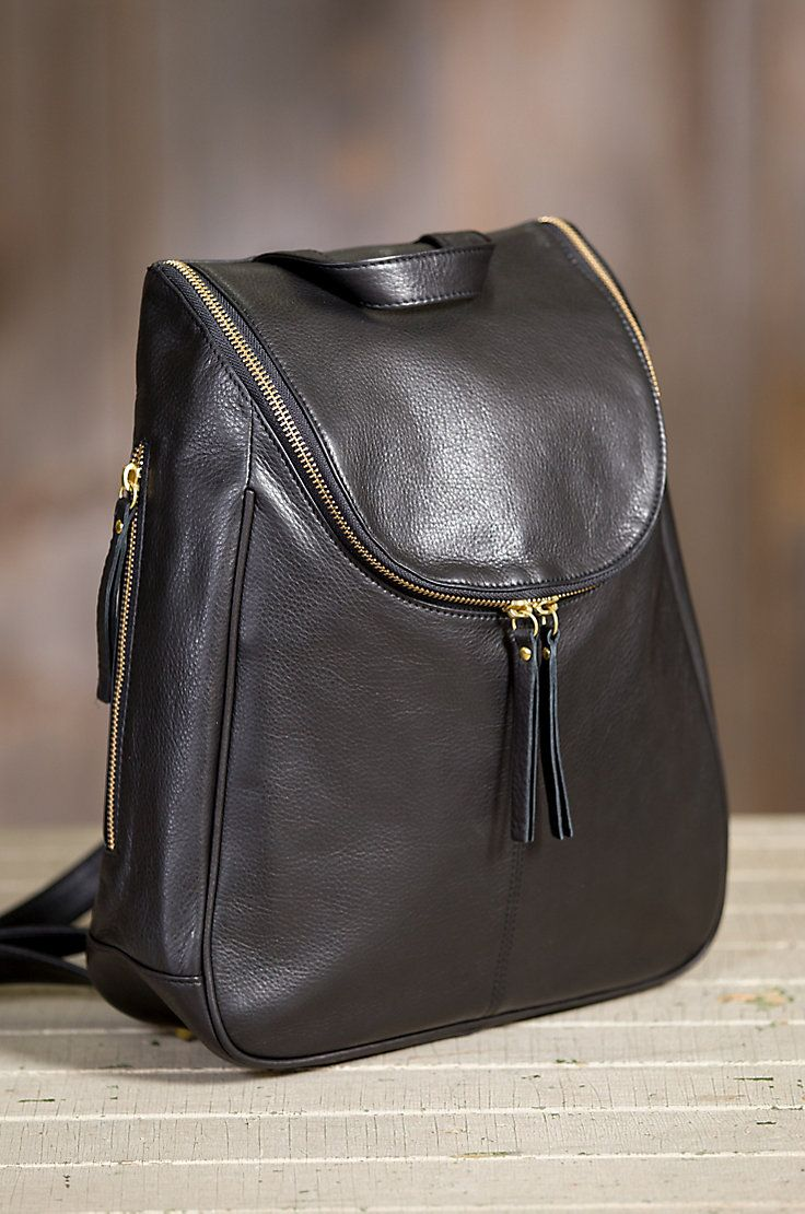 Poised To Take You The Nora Backpack Is Built For Long Haul In Supple Argentine Cowhide Leather With A Gentle Sheen