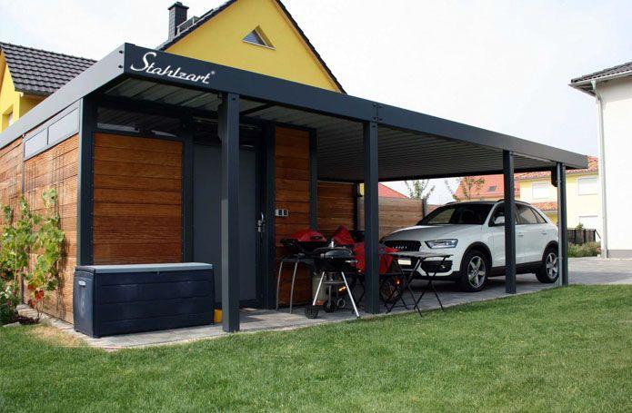 Metallcarport Stahlcarport kaufen - Preise & Info | Metallcarport ...