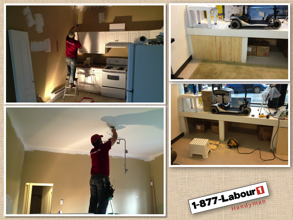 Finishing, Carpentry, Painting,