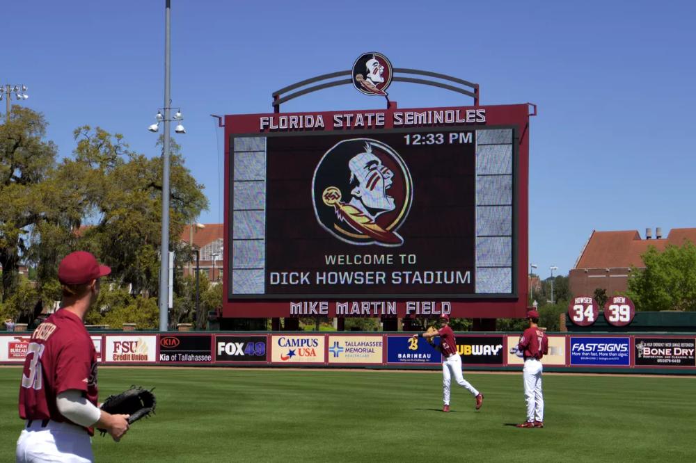Baseball Video Scoreboard Google Search In 2020 Baseball Videos Florida State Soccer Field