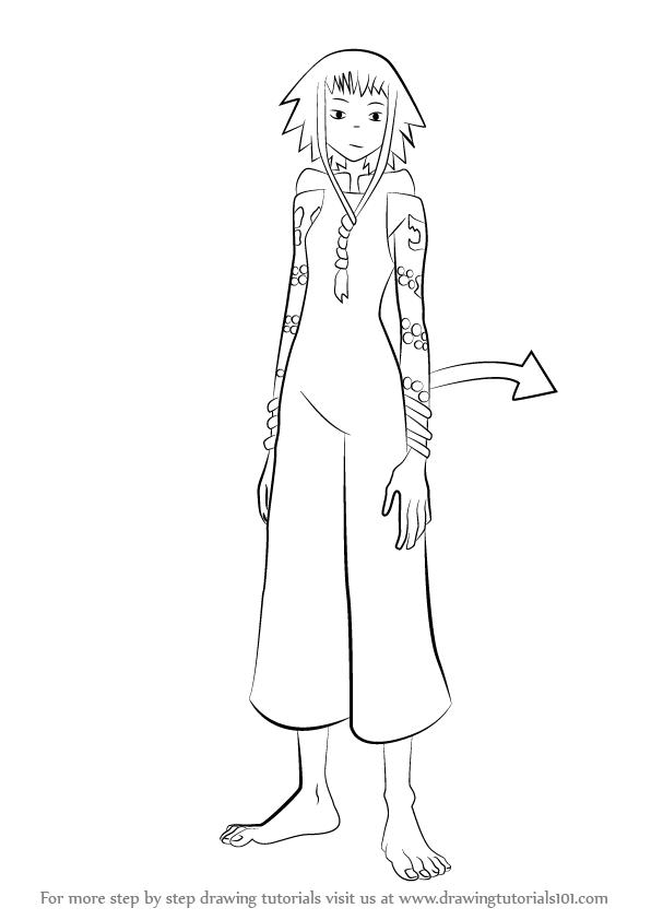 Learn How To Draw Medusa Gorgon From Soul Eater Soul Eater Step