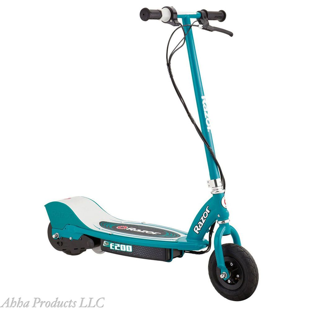 Electric Motorized E200 Razor Battery Power Scooter Cycle