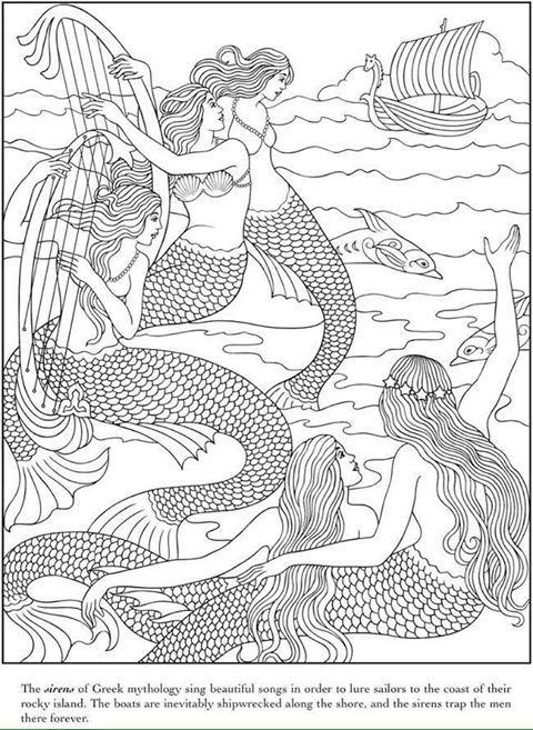 Pin By Beth Keeler On Coloring Mermaid Coloring Pages Mermaid Coloring Coloring Pages