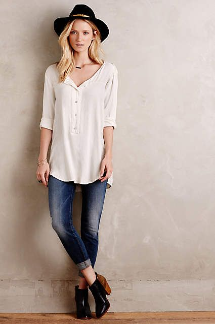 Kay Buttondown Tunic - #anthrofave