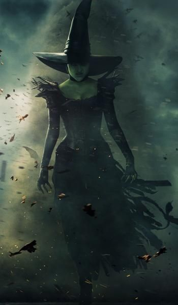 oz the great and powerful witch faery magic pinterest