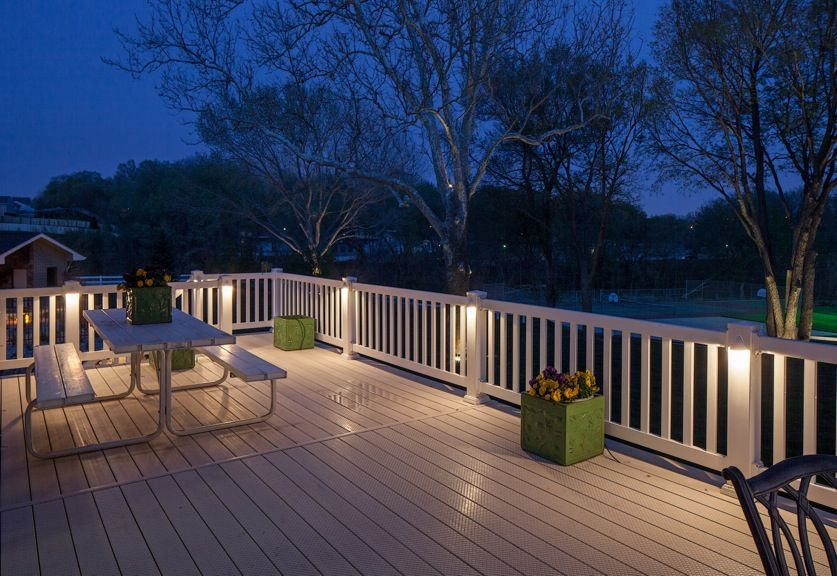Need some inspiration for your deck or patio here are some bright 21 decking lighting ideas an important part of homes outdoor design interior design inspirations aloadofball Gallery