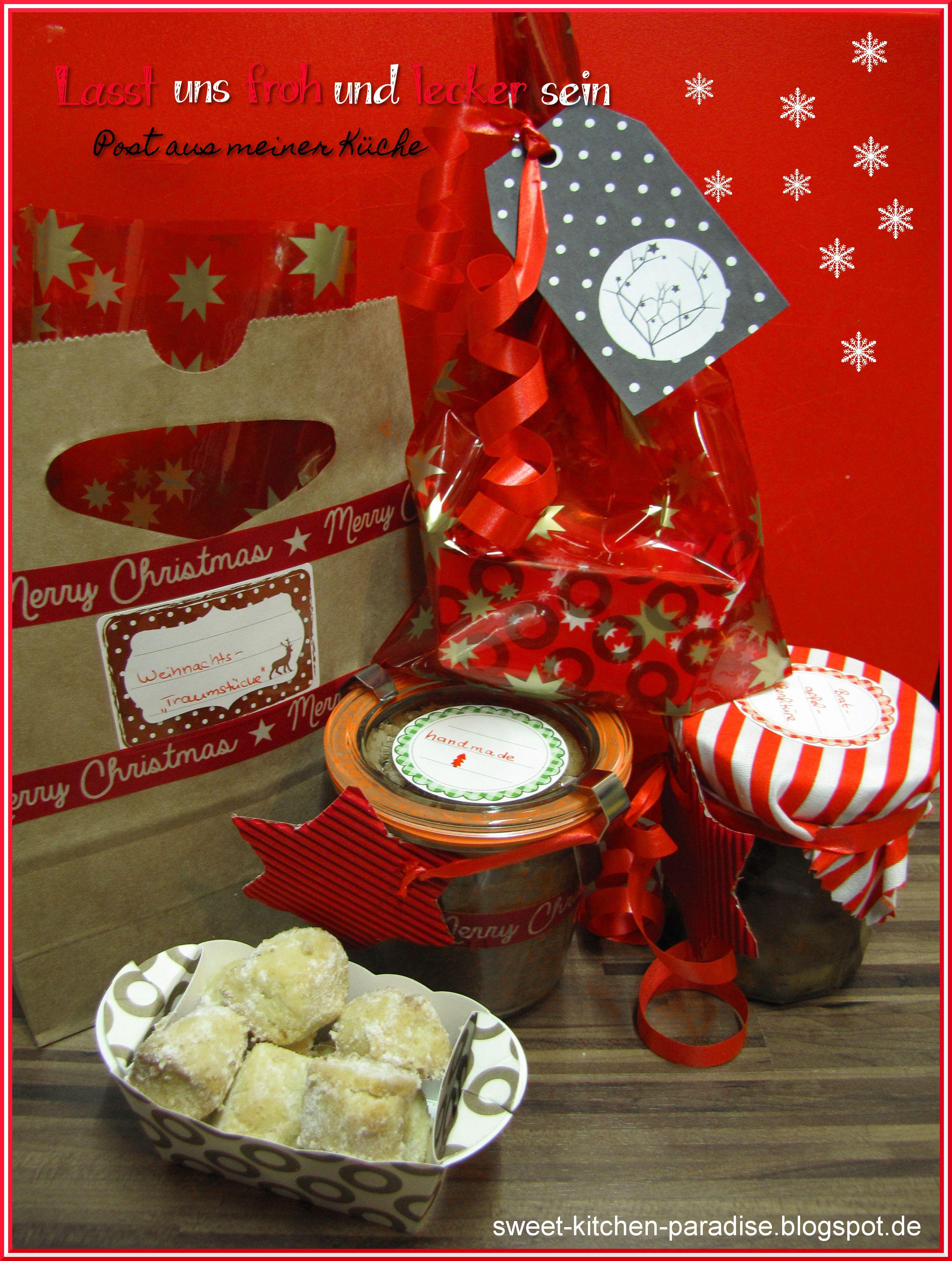bratapfel konfit re winterzauber pralinen weihnachts traumst cke und ein weihnachtlicher. Black Bedroom Furniture Sets. Home Design Ideas