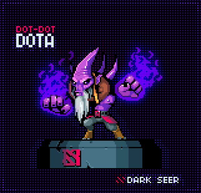 dot dot dota pixel artist army of trolls source armyoftrolls