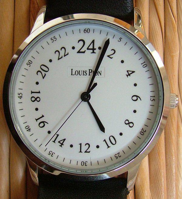 montre louis pion cadran 24 heures maud 39 pinterest montre horlogerie et montre louis pion. Black Bedroom Furniture Sets. Home Design Ideas