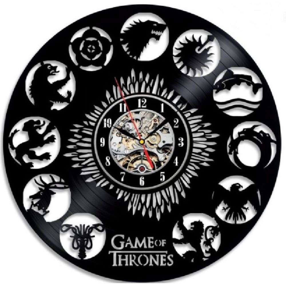 Game of Thrones Wall Clock Antique Style Clock Free