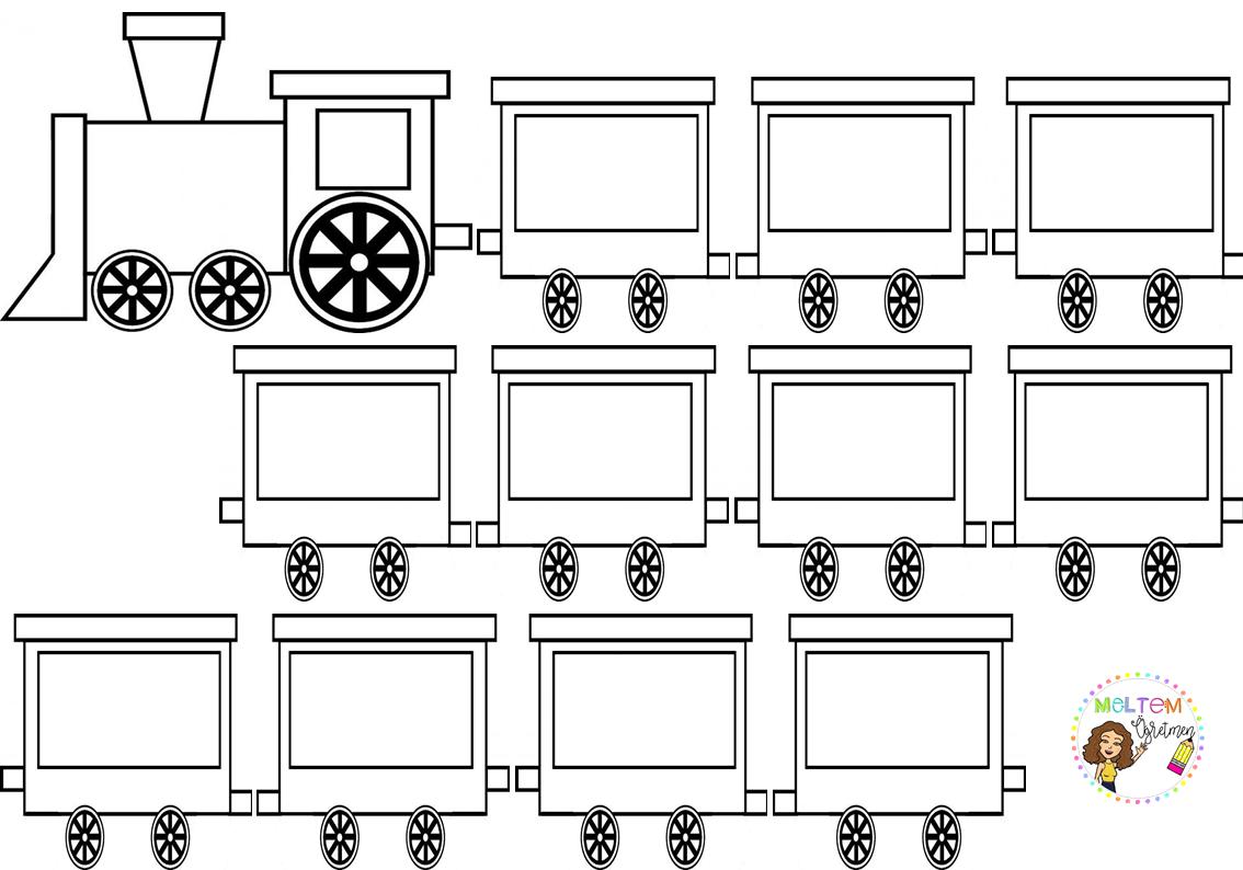 Okul Oncesi Tren Vagon 2020 Okul Oncesi Yazma Okul