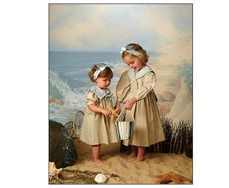 Girl Vintage Sailor Dresses for Sisters | Jahrgang, Mädchen und Kleider