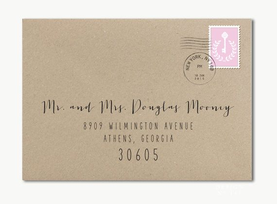 printable address labels wedding
