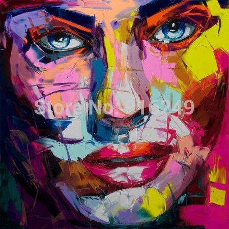 Assez Livraison rapide gratuit! Peint à la main Peinture Nielly Huile  YL84
