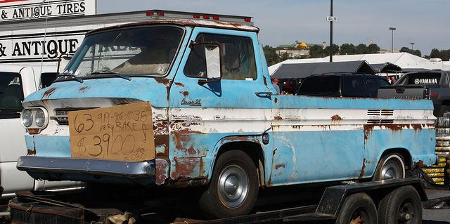 1963 Corvair 95 Rampside pickup (With images) | Abandoned ...
