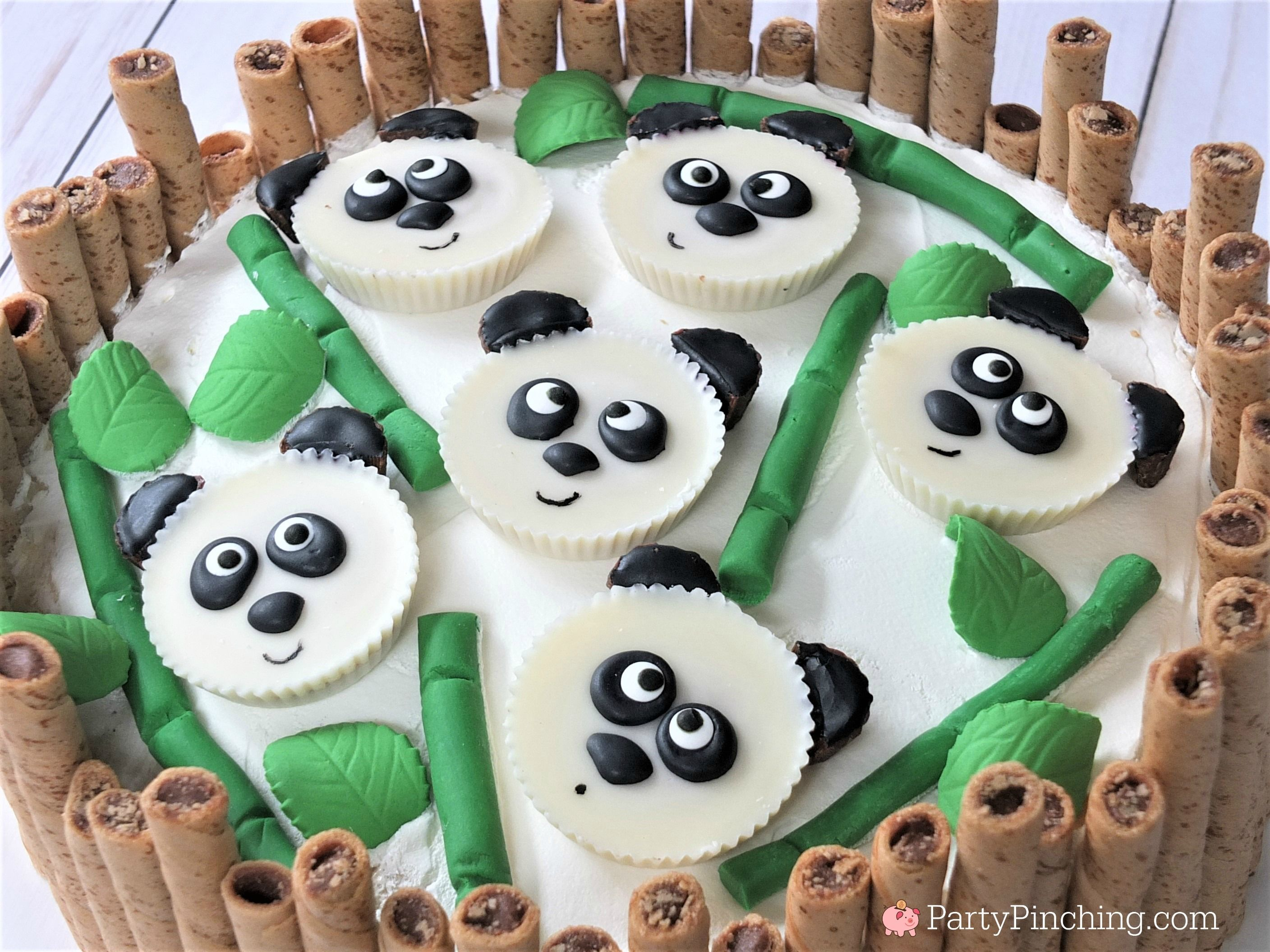 Panda Peanut Butter Cups Cute Panda Cake Panda Party Ideas Panda