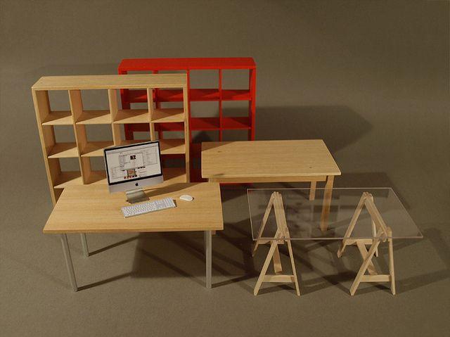 untitled ikea mini m bel f r 39 s puppenhaus vitra design. Black Bedroom Furniture Sets. Home Design Ideas