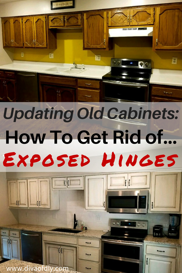 Updating Old Cabinets How To Get A Modern Look Replacing Kitchen Cabinets Update Kitchen Cabinets Kitchen Cabinets Hinges