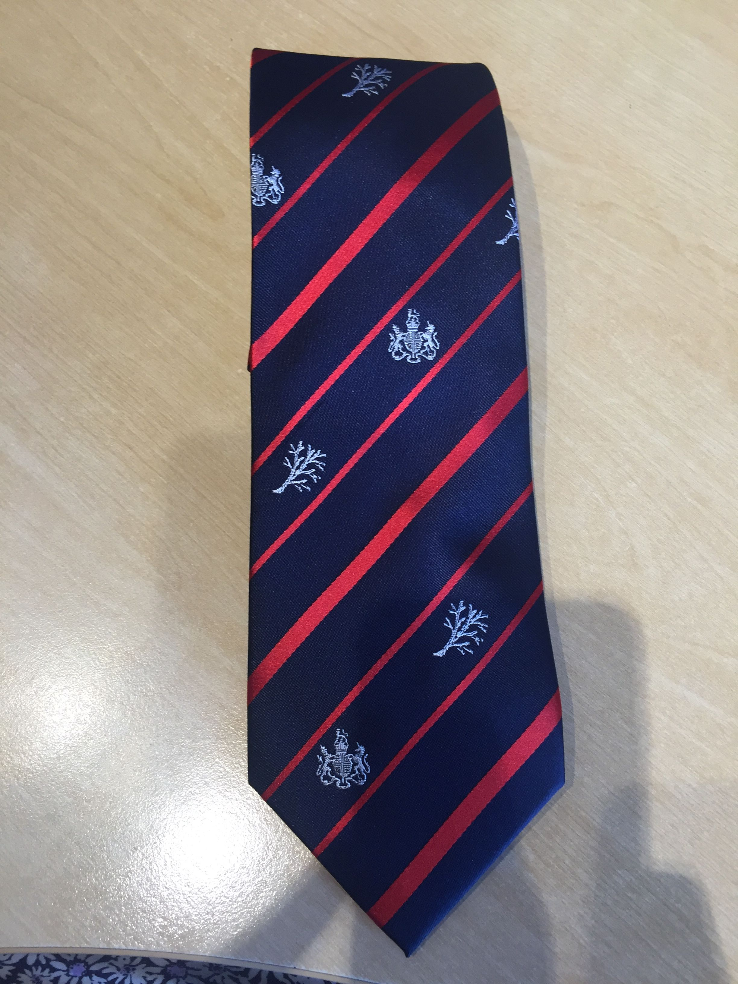 83e4da8bef4b Metropolitan Police Silk Tie | Promotional Merchandise | Silk ties ...