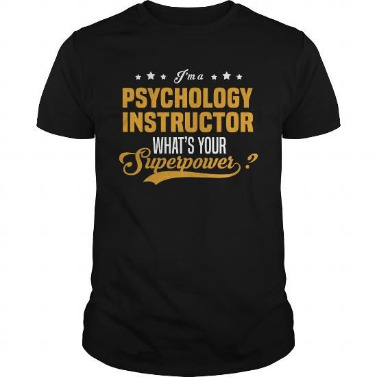 Awesome Tee Psychology Instructor T-Shirt School and Education T - child care manager sample resume