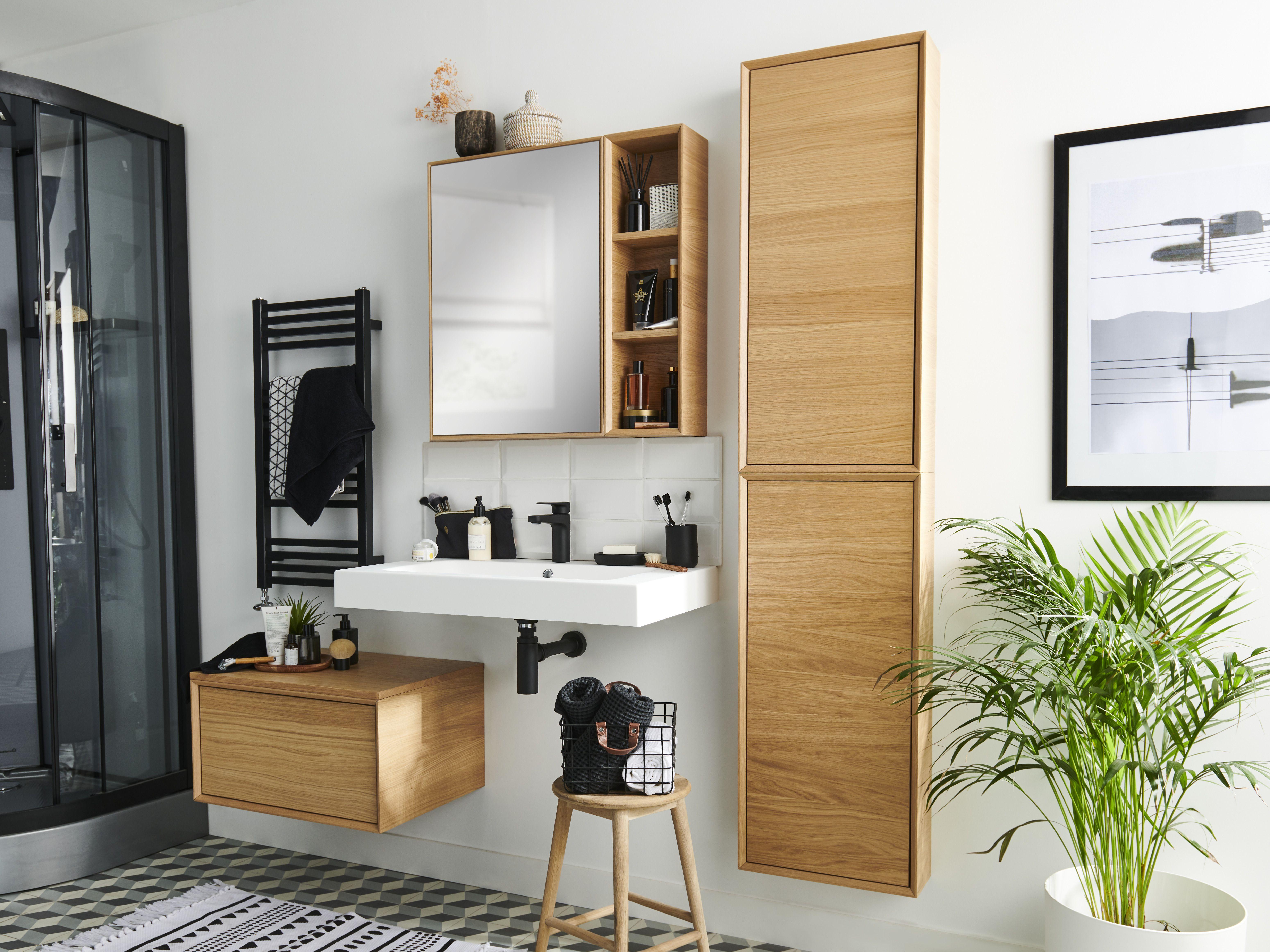 Zestaw Mebli Lazienkowych Goodhome Avela Z Umywalka Duala 80 Cm Zestawy Goodhome Home Decor Decor