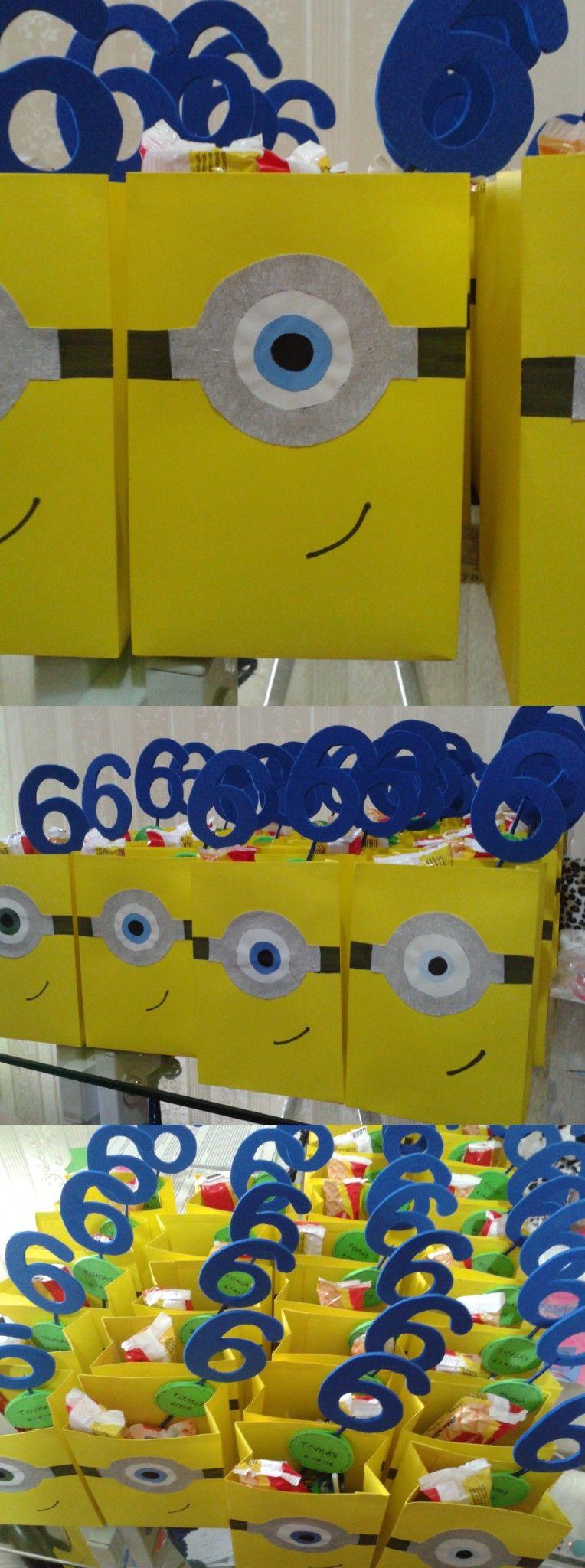 bolsitas sorpresitas de los minions para cumpleaos infantil ideas sorpresitas recuerdos
