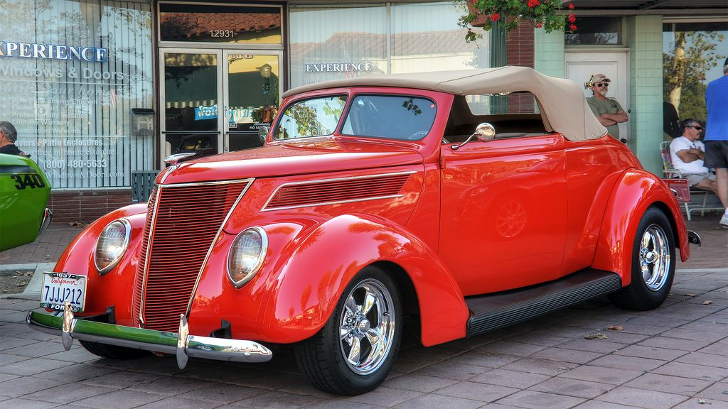 1937 Ford Convertible Cabriolet 85 HP Ford convertible