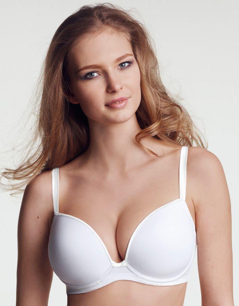 b4c9162299 Wonderbra D-G T-shirt Bra White