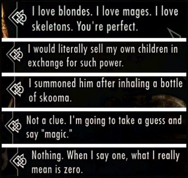 Dragonborn dovahkiin quotes | Skyrim | Skyrim, Skyrim funny, Elder