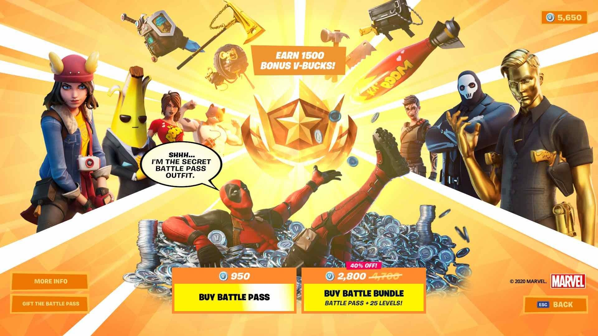 Get Unlimited Free V Bucks Chapter 2 Season 2 With Fortnite V Bucks Generator In 2020 Fortnite Deadpool Skin Video Game Movies