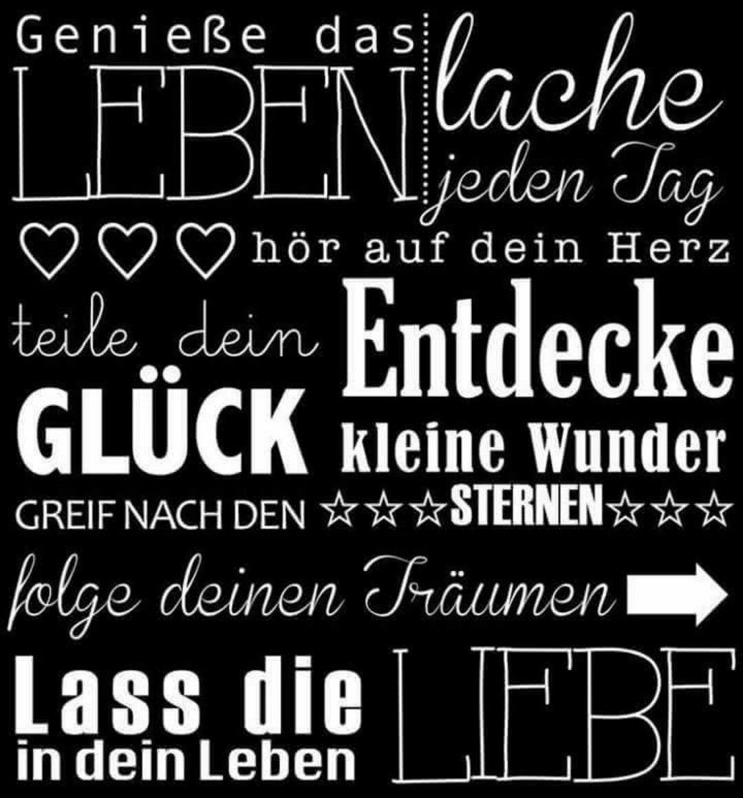 Pin von Heidi Lehsig auf Leben wie man selbst will, Leben ...