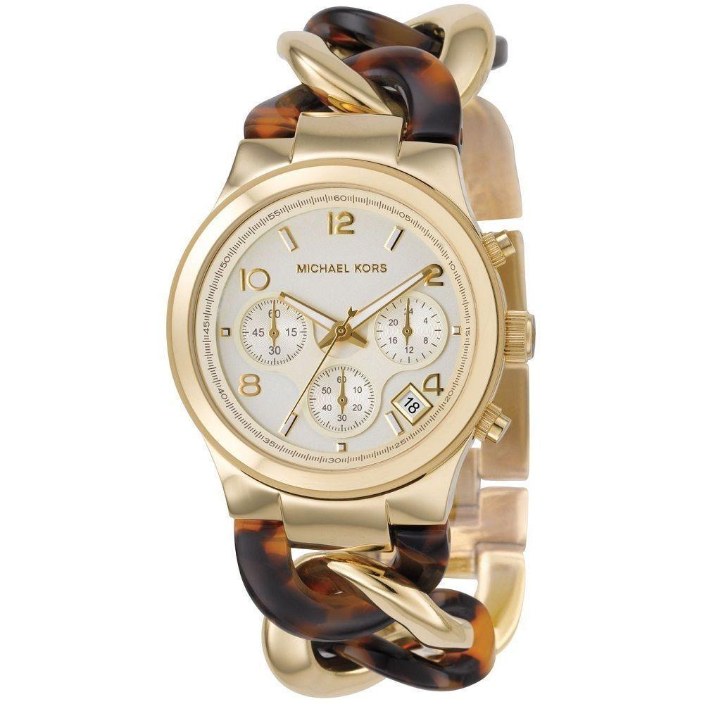Michael Kors Uhr Damenuhr Armbanduhr Goldfarbe Chronograph Mk 4222 Neu Uvp 249 Damenuhr Armband Damen Michael Kors Uhr