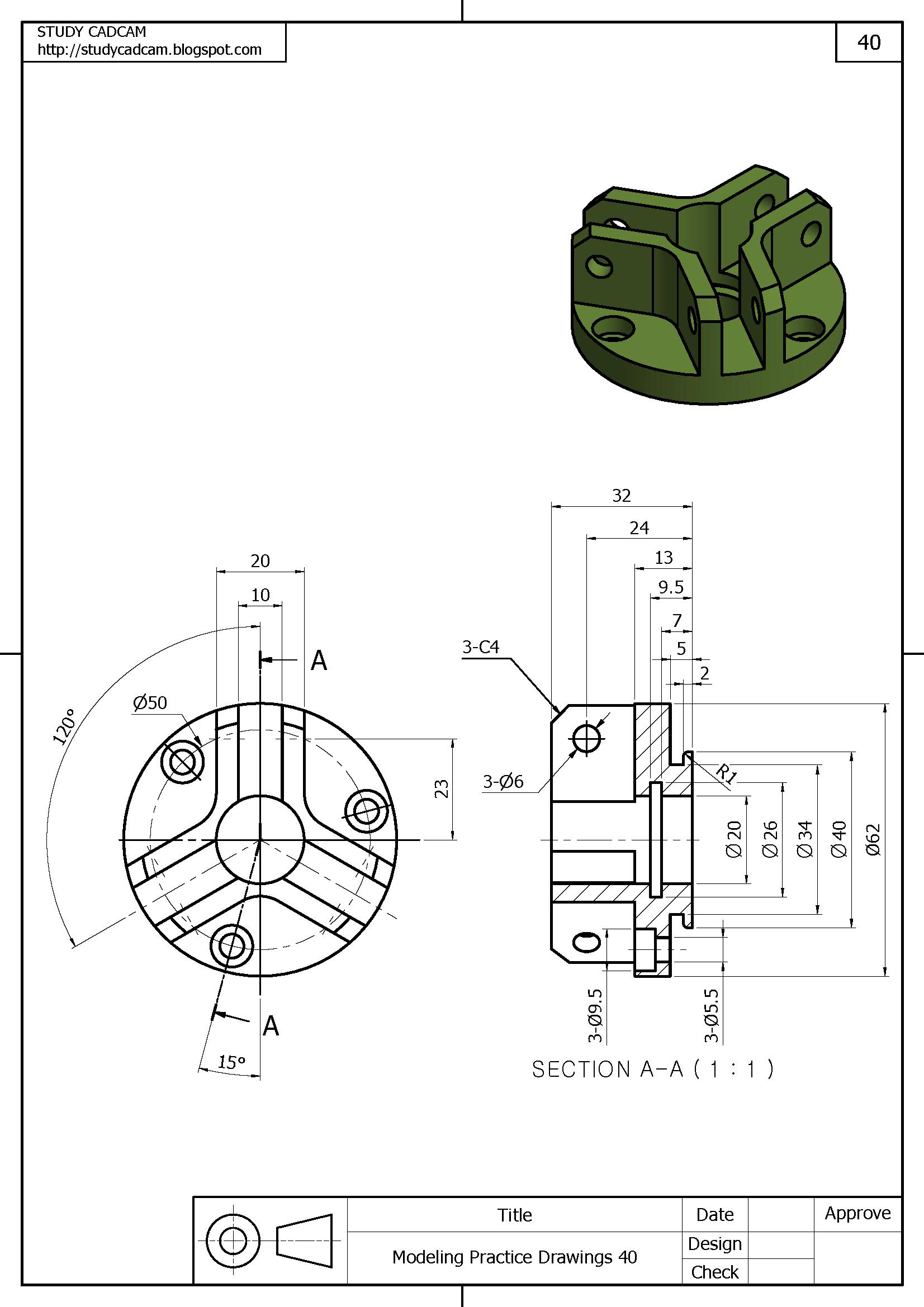 Pin De Adrian Emil Golesteanu En Solidworks Ejercicios De Dibujo Tecnicas De Dibujo Dibujo Tecnico Ejercicios