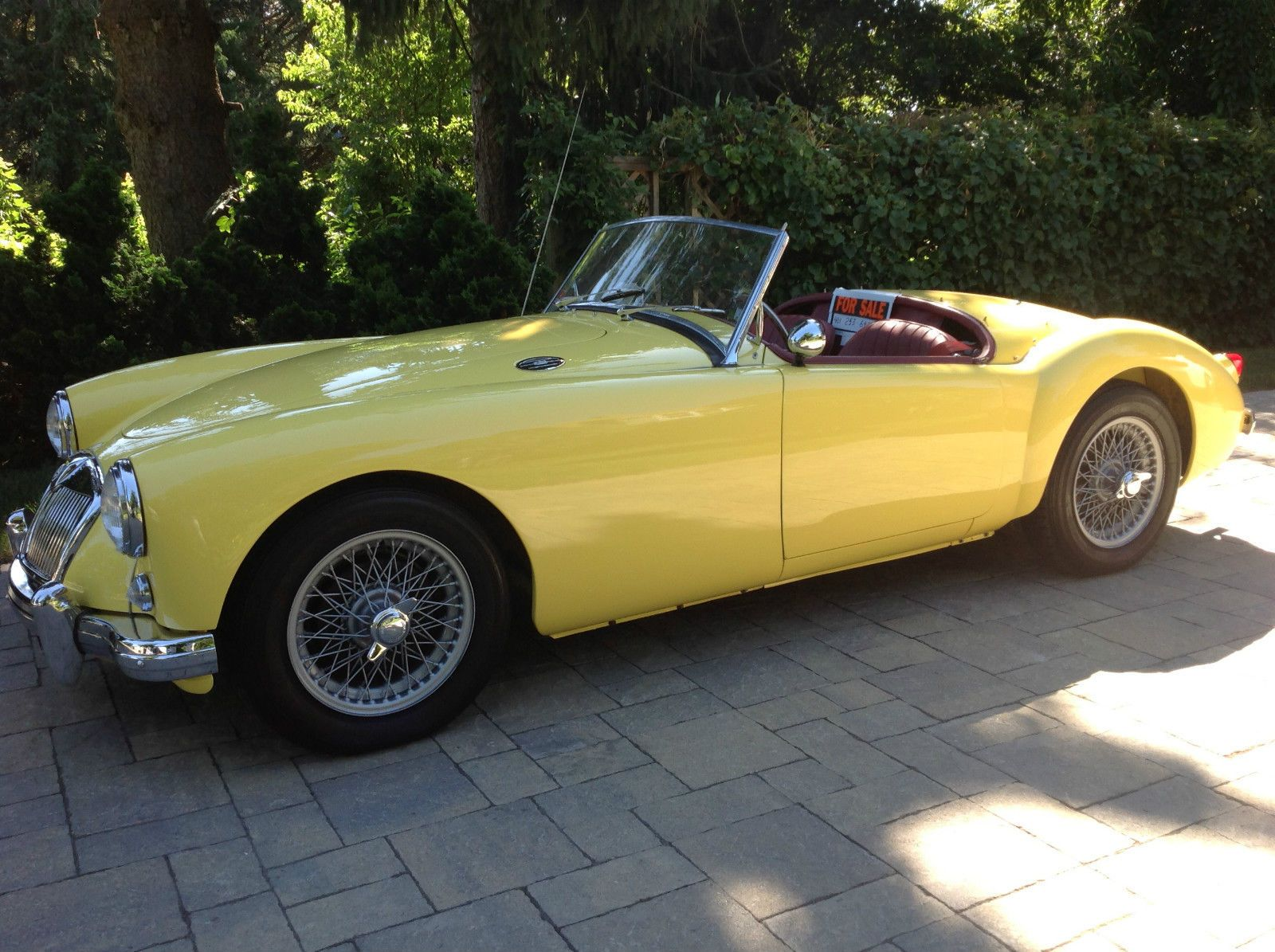 1957 MG MGA Base 1.5L Roadster - CarBiid.com | Classic Cars for ...