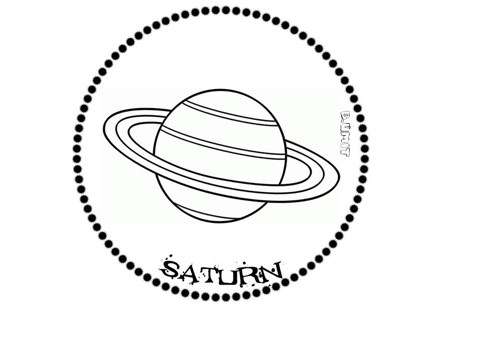 Gunes Sistemi Saturn Uzayda Yolculuk Okul